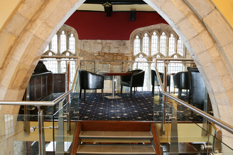 Parish Bar Arch & Seating Area